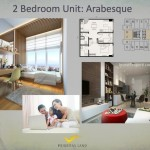 Tipe 2BR Arabesque Apartemen K2 Park Gading Serpong
