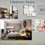 Tipe 2BR Riviera Apartemen K2 Park Gading Serpong