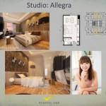 Tipe Studio Allegra Apartemen K2 Park Gading Serpong