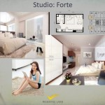 Tipe Studio Forte Apartemen K2 Park Gading Serpong