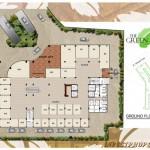Denah Lantai Dasar Apartemen Green Kosambi Bandung