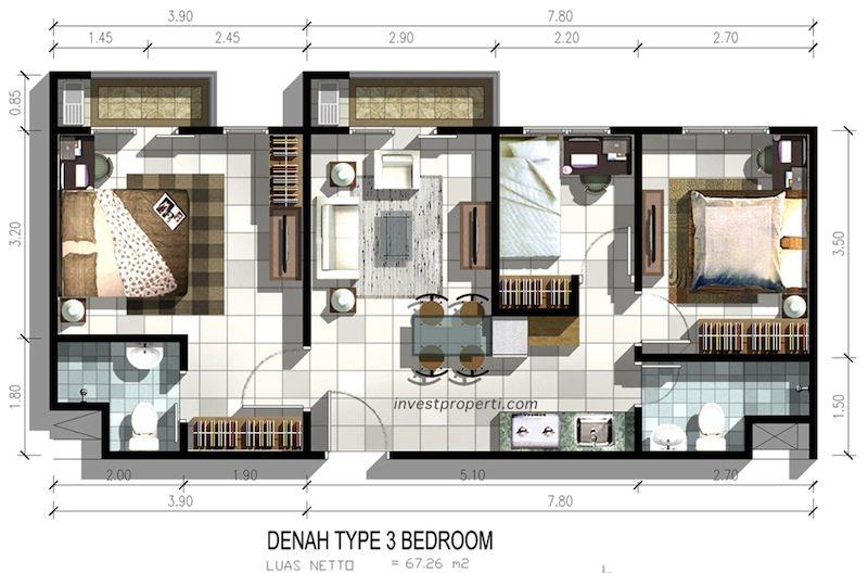 Puri Orchard Apartment Cengkareng Jakarta Investasi