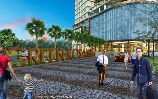 Entrance Apartemen Green Kosambi Bandung