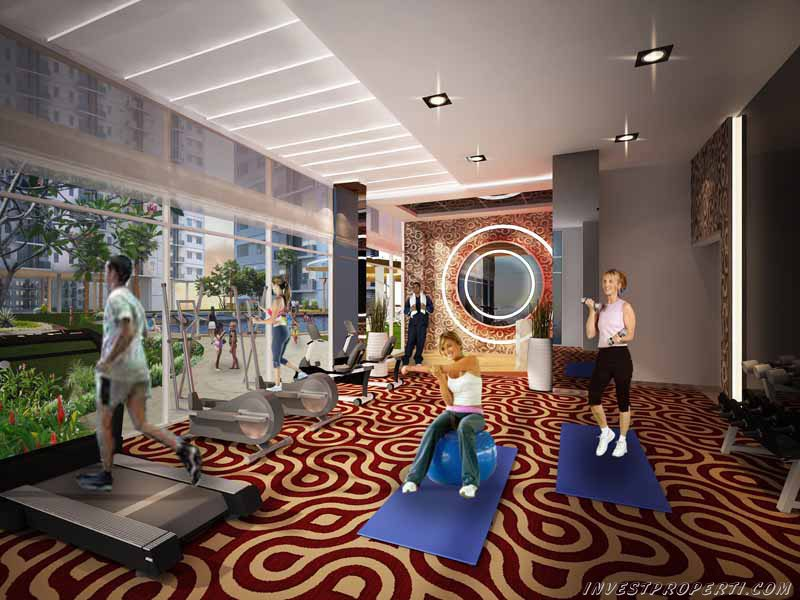 Fitnes Puri Orchard Apartemen