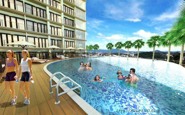 Kolam Renang Apartemen Green Kosambi Bandung