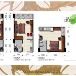 Tipe Unit Studio Green Kosambi Apartemen Bandung