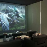 Wang Residence Movie Room