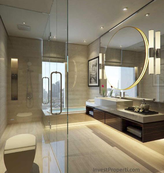 Wang Residence Penthouse Master Toilet