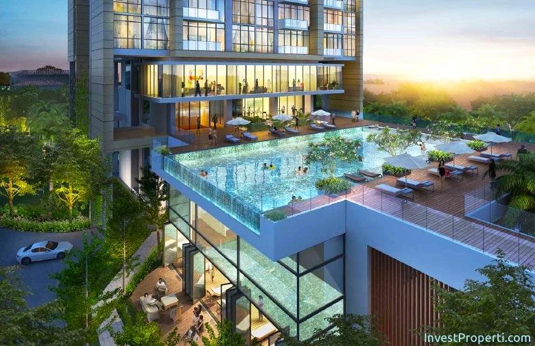 Wang Residence Podium Swimming Pool