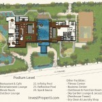 Wang Residence Site Plan Podium Level