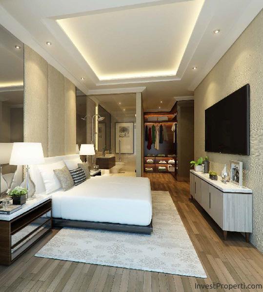 Wang Residence Upperhouse Master Bedroom Interior Design