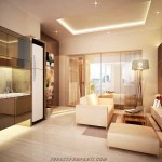 interior design 1 bed Puri Orchard Apartment