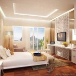 interior design kamar studio Puri Orchard Apartment