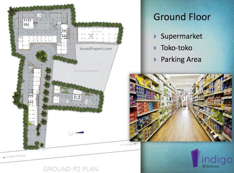 Floor Plan Ground Floor Indigo Bekasi