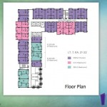 Floor Plan Indigo Bekasi Apartemen Lt 7 8 21 22