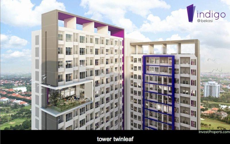 Indigo Bekasi Apartment Tower Twinleaf