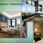 Tipe Elsevier 3BR Indigo Bekasi Apartment - Bedroom