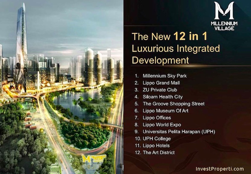 12 in 1 Integrated Development Millennium Village