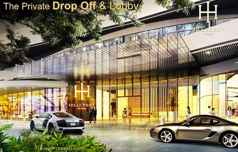 Drop Off Lobby Hillcrest House Millenium Village Lippo
