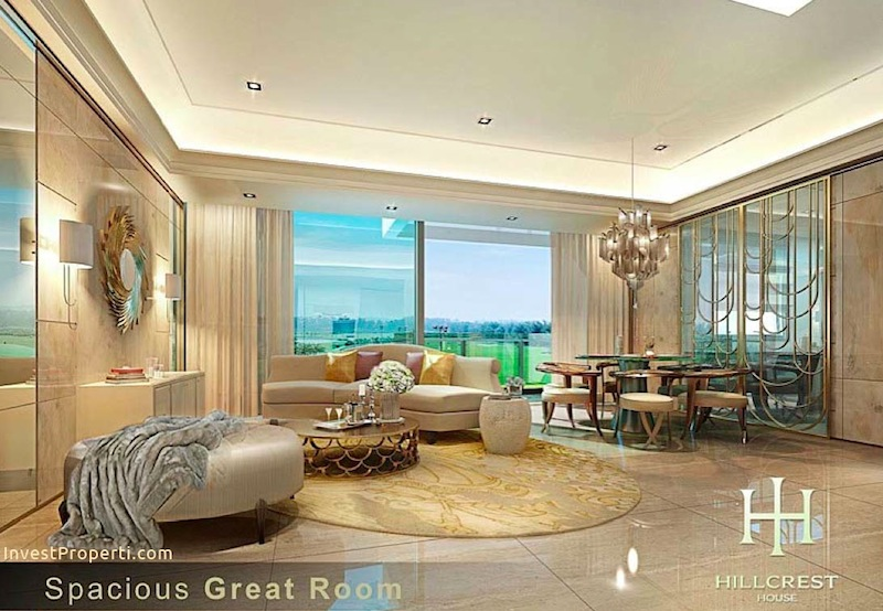 Interior Design Living Room Hillcrest House Lippo Apartment