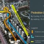 Pedestrian Walk Linkage Millennium Village Lippo