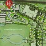 Peta Lokasi Hillcrest House Apartment Lippo