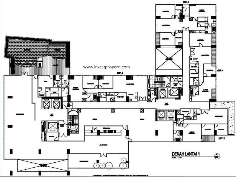 Floor Plan Executive Suite Lt1