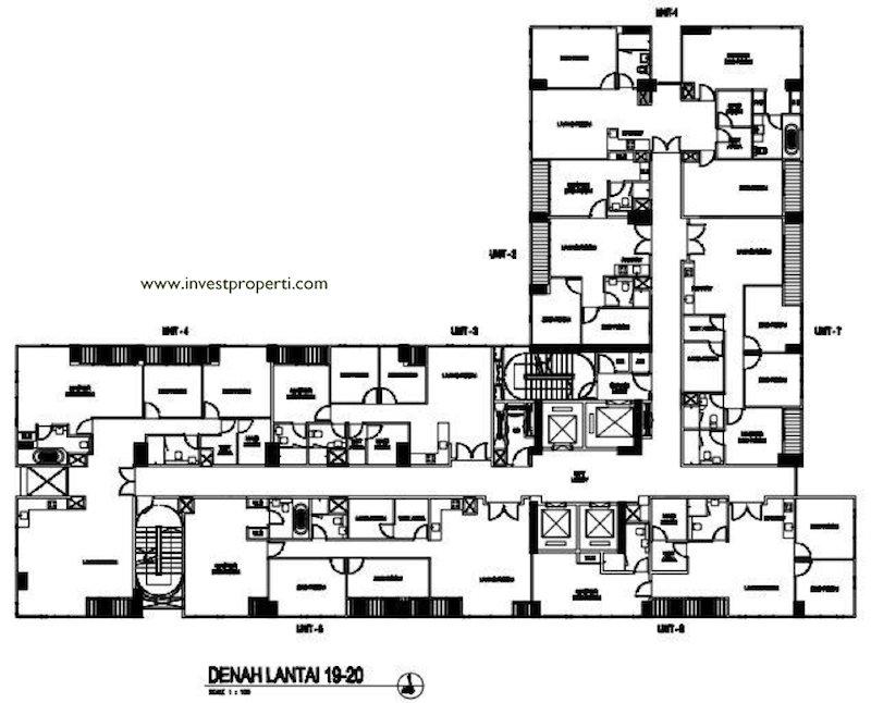 Floor Plan Executive Suite Lt19-20