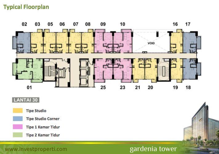 Floor plan tower gardenia lt 30 for The villages gardenia floor plan