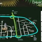 Peta Lokasi Embarcadero Bintaro
