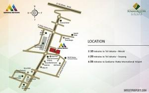 Peta Lokasi Serpong Midtown Summarecon