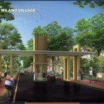 Gerbang Depan Cluster Milano Village