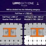 Lippo 61 Plaza Cikarang Floorplan