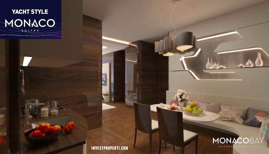 Monaco Suites Living Room Apartment