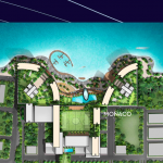 View Monaco Bay Manado Resort Site Plan