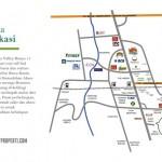 Peta Lokasi Botanica Valley Serpong