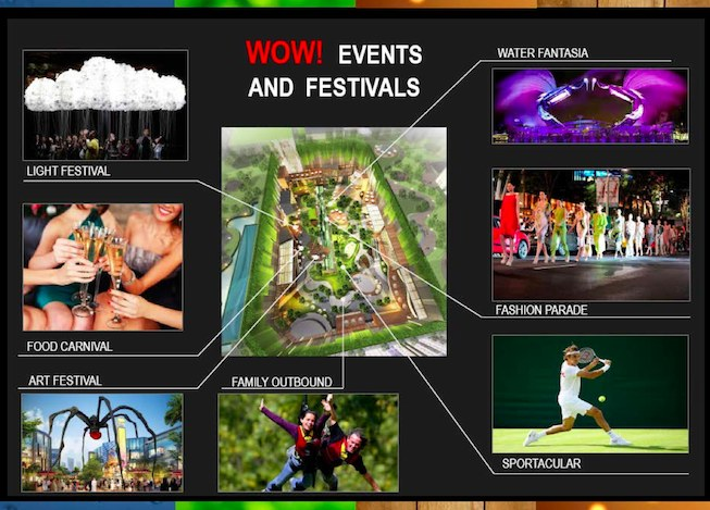 Podomoro Park Events and Festivals