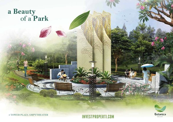 Tower Amphytheater Botanica Valley Serpong