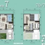 Floor Plan Rumah Azura 7 Vanya Park