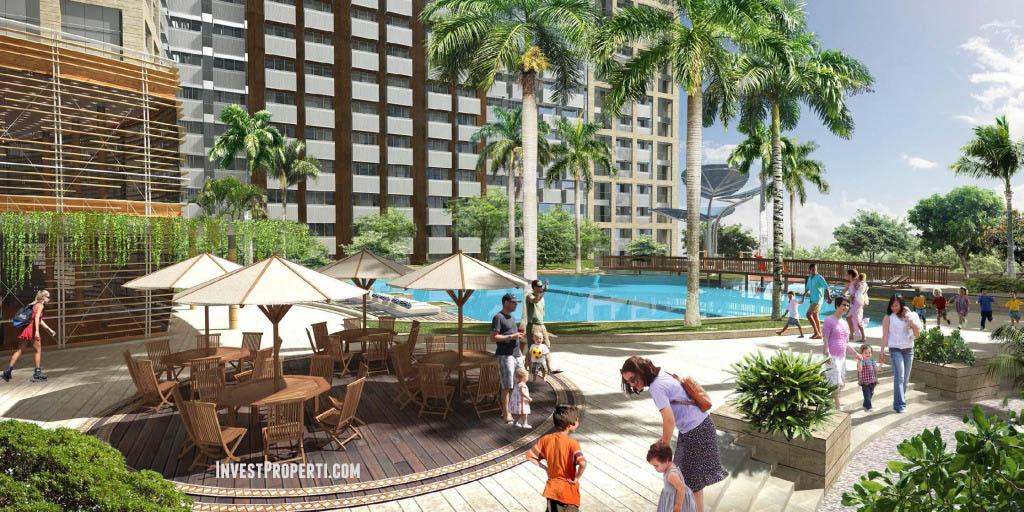 Fasilitas Apartemen West Vista Jakarta