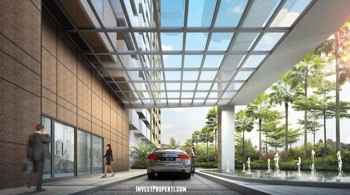 Lobby Apartemen West Vista Jakarta