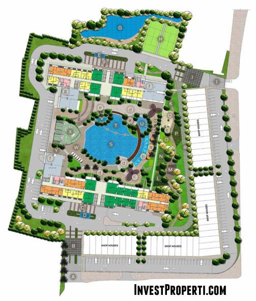 Master Plan Apartemen West Vista Jakarta