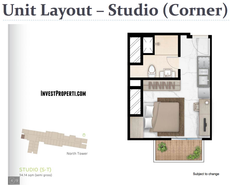Tipe Studio Corner West Vista