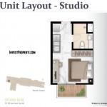Tipe Studio West Vista Apartemen