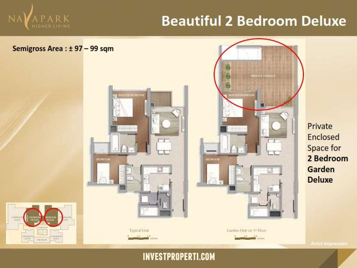 Unit 2BR Deluxe