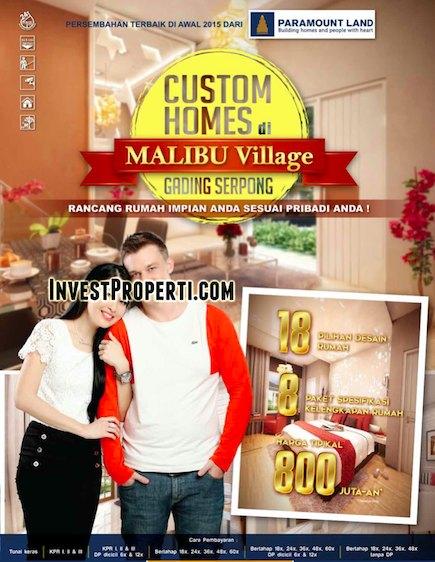 Brosur Malibu Village 01