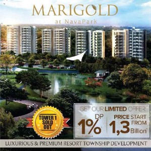 Launch Penjualan Marigold NavaPark Condo Tower 2