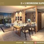 Marigold 2+1BR (Design Interior)