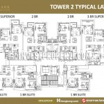 Floor Plan Tower 2