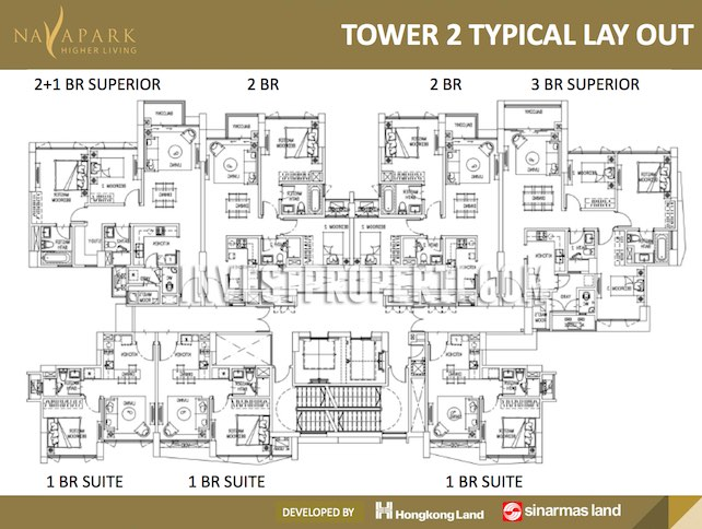 Floor Plan Tower 2